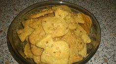 recette Crackers au fromage et graines de sésame