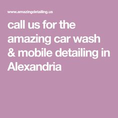 Mobile car wash unit is eco friendly car wash detailing call us for the amazing car wash mobile detailing in alexandria solutioingenieria Gallery