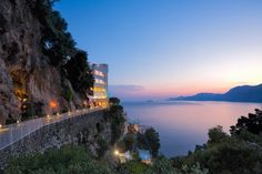 Casa Angelina Lifestyle is a Wedding Venue in Praiano, Campania, Italy. See photos and contact Casa Angelina Lifestyle for a tour. Positano, Naples, Luxury Hotel Design, Capri, Hotel S, Amalfi Coast, Outdoor Pool, Places To Travel, World