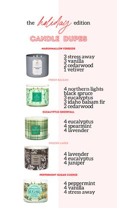 Essential Oil Candles, Essential Oil Uses, Young Living Essential Oils, Essential Oil Combinations, Diy Candles Scented, Diffuser Recipes, Essential Oil Diffuser Blends, Candels, Living Oils