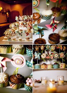 Pin-Wheels add gorgeous colour, can be colour matched to your theme, great table centres, outdoor decorations, fun, cheery and different from having flowers...