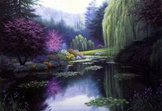 Charles White Spring Reflections