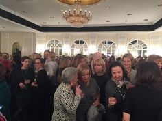 The guests at the Ladies Lunch