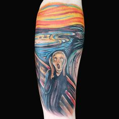 Check out this high res photo of Tyler Nolan's tattoo from the Fine Art episode of Ink Master on Spike.com.