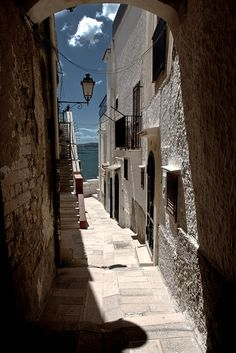 Vieste Puglia Italy. I love places like this: they have history, character and a sense of belonging.