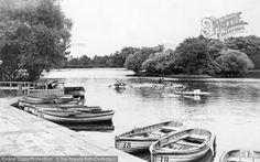 Gateshead, Saltwell Park Lake c.1955, from Francis Frith