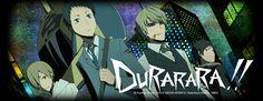 Durarara!! (TV) - Anime News Network  Supernatural, action, fun. Good pacing, kept me interested.