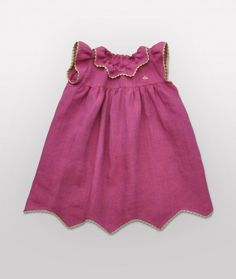 a darling dress with rickrack trim