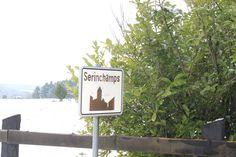 bouwgrond(-en) te Serinchamps in nabijheid van kasteel , bos , natuur , vijvers , weilanden ....