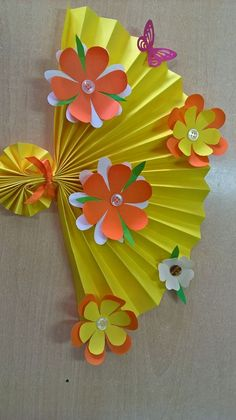 Paper Flower Art For Kids Mothers 36 Ideas For 2019 Paper Crafts - The Ultimate Craft Ideas Pap Mothers Day Crafts For Kids, Spring Crafts For Kids, Crafts For Kids To Make, Kids Crafts, Art For Kids, Diy And Crafts, Paper Flower Art, Flower Crafts, Paper Flowers