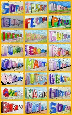 Collages nom en perspectiva 6è A - MARIA CARMEN NAVARRO GONZALEZ - Picasa Web Albums