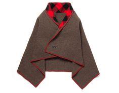 希少なウールを贅沢に使用したウールリッチの新作ケープで、プラスαの防寒を。 | アウトドアファッションのGO OUT