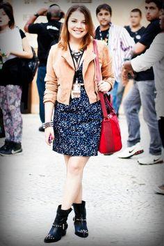 Isabel Borges no Fashion Rio com vestido NEO #fashion #vivaneo #ootd