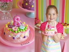 Decorate your own cake party, other great food ideas on the blog :)