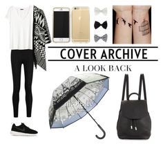 """""""BLACK EVERY DAY LOOK"""" by muzungoraf on Polyvore featuring NIKE, Donna Karan, H&M, Accessorize and rag & bone"""