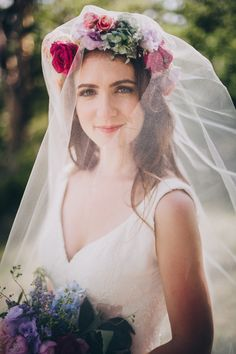 Flower Crown or Veil? - What do Flower Crowns Mean? - EverAfterGuide