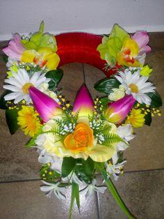 Floral Wreath, Wreaths, Table Decorations, Home Decor, Homemade Home Decor, Door Wreaths, Deco Mesh Wreaths, Garlands, Floral Arrangements