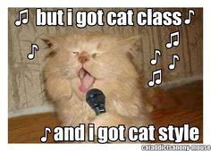 Too funny! Looks like me when I karaoke! Lol