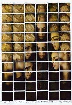 Johnny Depp Italian photographer Maurizio Galimberti creates unique mosaic portraits of celebrities using Polaroid.it Lady Gaga George Clooney Robert De Niro Benicio del Toro Sting Catherine Zeta Jones Polaroid Collage, Collage Foto, Collage Portrait, Mosaic Portrait, Photo Portrait, Polaroid Pictures, Polaroids, Polaroid Film, Celebrity Faces