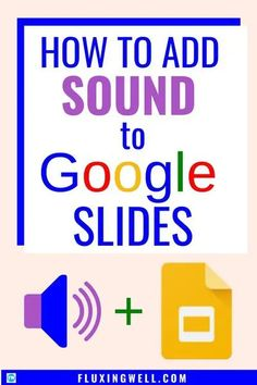 How to Add Sound to Google Slides will show you step-by-step instructions to add narration or music to Google Slides. Free video tutorials and a free project template are included. Adding sound is an easy Google hack, but there are a few tricks to learning this new feature in Google. If you are looking for some Google ideas to engage students, this is a great way to enhance a Google Classroom project. #googleappsforeducation #googleapp #googleintheclassroom #googleslidesideas #teachers Teaching Technology, Educational Technology, Teaching Resources, Instructional Technology, Teaching Biology, Educational Activities, Google Classroom, People Reading, Classroom Activities