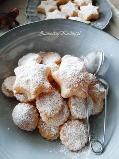 CIASTKA SEROWE Z 3 SKŁADNIKÓW – Zasmakuj Kuchni Cookie Recipes, Dessert Recipes, Breakfast Menu, Polish Recipes, Pavlova, Sweet Tooth, Bakery, Good Food, Food And Drink