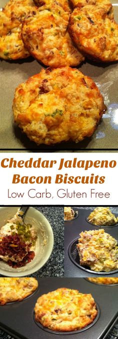 bacon biscuits low carb gluten free cheddar jalapeno bacon biscuits ...