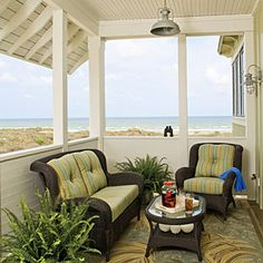 Style Guide: 61 Breezy Porches and Patios | Second Floor Porch | SouthernLiving.com