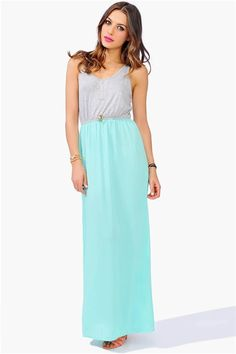 Summer Nights Dress - Mint