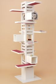 Cat Tree - un meuble de rangement de cds à reconvertir?