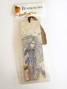 Gnome Bookmark Art Print Woodland Troll with Heart Card