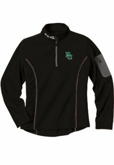 #Baylor Women's 1/4 Zip Fleece, available at Baylor Bookstore. Order for in-store pickup to join #EveryoneInBlack. #SicEm