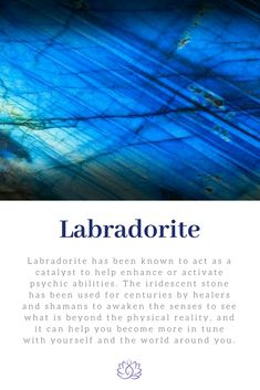 Labradorite Healing Properties: Ignite Your Spirit Labradorite Healing Properties, Psychic Abilities, Healer, Intuition, Iridescent, Awakening, Meant To Be, Gemstone, Stones