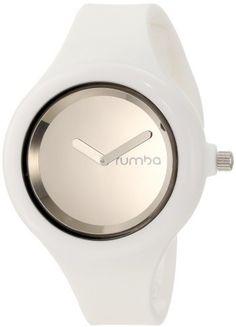 RumbaTime Women's 11989 Jane Snow Patrol Silver Modern Stylish Analog Watch