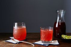 Fruit shrubs