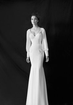 Modest wedding dress #lds #modest #stylish #wedding