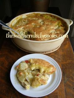 Hearty Chicken Pot Pie-This recipe made the top 10 most popular recipes list on my website for 2013.
