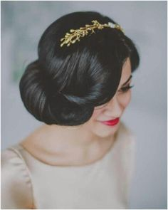 Romantic Low Bun Wedding Hairstyles We Heart