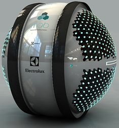 By Electrolux MAB ... mini robots to clean your house.