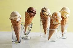Have a slightly more adventurous palate? Try this decadent Italian treat pronto. Make our base recipe first, then pick your favorite of our five flavors. Recipe: Indulgent Gelato   - CountryLiving.com