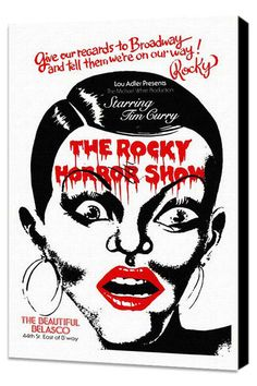 Back Lot Art The Rocky Horror Picture Show 11x17 Framed Poster