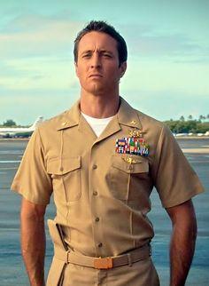 Alex as Steve McGarrett
