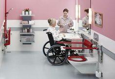 Bathroom designed for user and carer