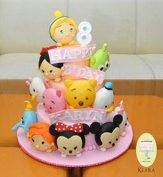 Tsum tsum cake deco