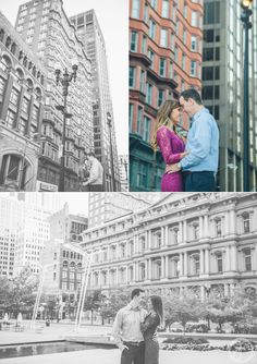 alyssa + jacob // engaged // forest park and downtown st louis wedding photographers