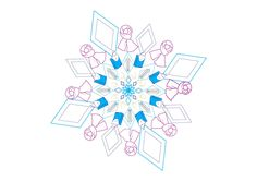 Snowflake I do with al winter elements scarf, handerkerchief,thermometer and you can se also a runny nose Runny Nose, Les Oeuvres, Snowflakes, Deviantart, Illustrations, Winter, Artist, Paint, Winter Time