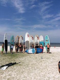 SUP Yoga Teacher Training June 5 2015 St Petersburg FL 727