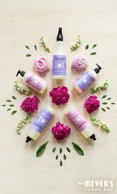What's better than one limited edition spring product? Why, five of course. Get your hands on sweet, summery smelling Peony and fresh, floral Lilac while you can over at MrsMeyers.com.