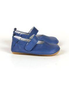 Blue Lisa babyshoes - Lili Shoes