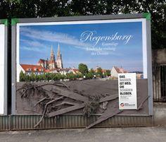 """""""Regensburg. Niepowtarzalne widoki wzdłuż brzegu Dunaju. Woda opada, ale zniszczenia pozostają"""""""