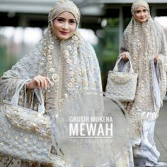 Tudung Shawl, Folk Costume, Costumes, Kebaya Brokat, Islamic Prayer, Mode Hijab, Muslim Women, Indian Outfits, Hijab Fashion